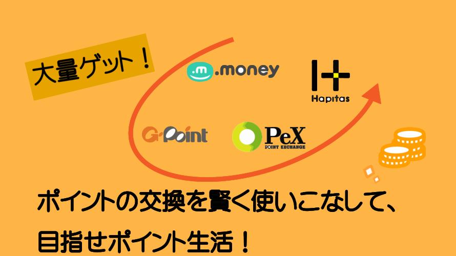 【保存版】ポイントサイトのポイント交換効率をアップする方法